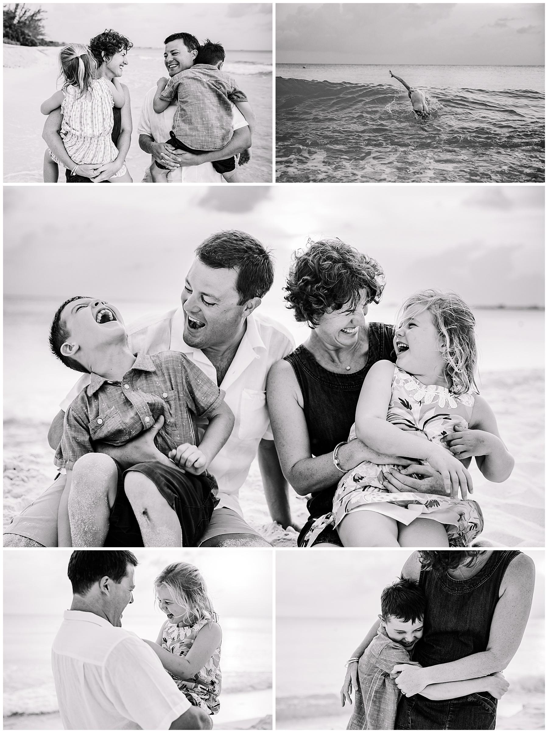 Grand Cayman Family Photographer 7 Mile Beach